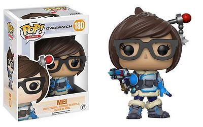 "MEI 3.75/"" POP VINYL FIGURE POP GAMES FUNKO 180 OVERWATCH"