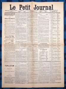 La-Une-Du-Journal-Le-Petit-Journal-29-Janvier-1889-Election-De-Boulanger