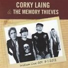 Corky Laing & The Memory Thieves Iridium Live 8-1-2012 13trk CD Mountain