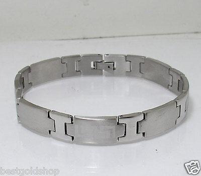 """8/"""" Mens Flexible Designer Panther Link Bracelet Stainless Steel by Design"""