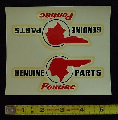 VINTAGE 60/'S WATER DECAL GENUINE THUNDERBIRD PARTS FORD HOT ROD NASCAR NHRA OLD