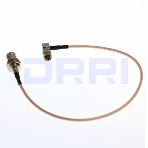 Bnc Hembra Mamparo Oring a DIN 1.0//2.3 Macho Cable Pigtail RG179 75ohm