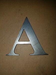 metal house or street address number or letter cutouts crafts