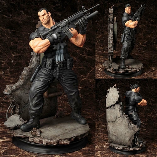 Marvel Fine Art Statues - 1 6 Scale Marvel Universe The Punisher FACTORY SEALED