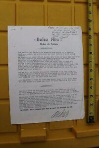 Details about BALSA Wood Surfboard Blank Flite Tagua A1 Vintage Surfing  3-Page Dealer Sheet