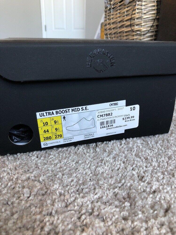 Adidas x Consortium Ultra Boost Mid Packer x Adidas Solebox CM7882 Size 10 f97652
