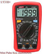 Uni T Ut33d Digital Multimeter Ac Dc Voltage Ammeter Ohmmeter Ncv Diode Tester
