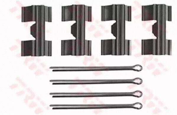 Kit D'Accessoires, Disque Plaquettes Frein TRW PFK256