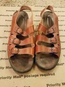a0a1e32dbfa Image is loading women-039-s-CLARKS-SPRINGERS-SUNBEAT-leather-sandals-
