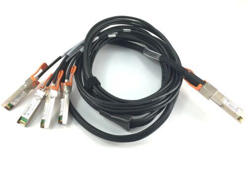40Gbase-Cr4 Qsfp Transceiver Assembly 3m QSFP-4SFP10G-CU3M 4x 10Gbase-Cu Sfp