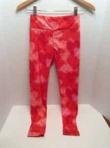 Lularoe Women S One Size Heart Leggings Valentine S Day Ebay