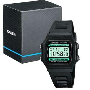NEW-Casio-Collection-W-86-1VQES-Mens-Digital-LCD-Watch-Stopwatch-Alarm-Light-etc