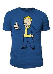 Fallout - Herren Premium T-Shirt - Thumbs Up (Blau) (S-XL)