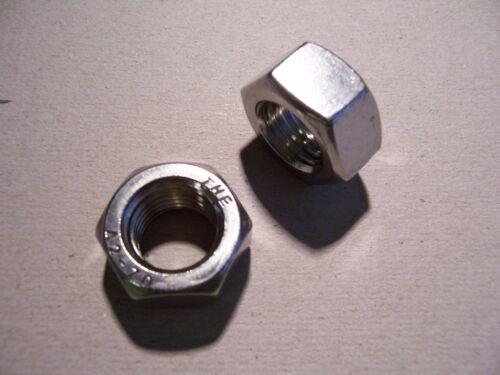 v2a Inoxydable m12x1,5 5st tenacité écrous DIN 934