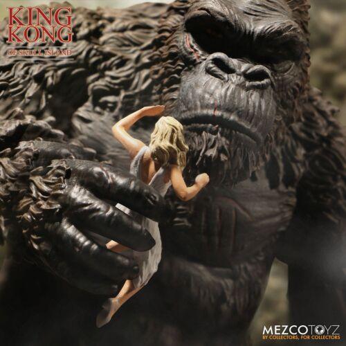 "Mezco Toyz 2018 King Kong of Skull Island King Kong 7/"" Action Figure In Stock"