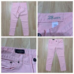 J Crew Size 28 Nwot Women S Toothpick Ankle Jeans Inseam 28 Ebay