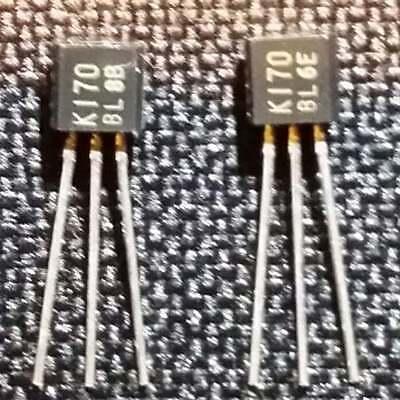 2SK170 Toshiba J-FET Transistors Qty 20 - 2SK170BL - NEW - Audio 10mA