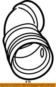 ford oem 08 14 e 150 4 6l v8 air cleaner intake tube duct hose 1998 Ford Van image is loading ford oem 08 14 e 150 4 6l