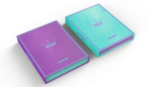 5th Mini Album PURPLE CD+Photobook+Photocard+Poster MAMAMOO Purple/&Mint ver