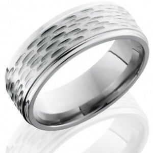 Ring Size 12.5 Security Jewelers Tungsten 8mm PVD Grooved Band Size 12.5