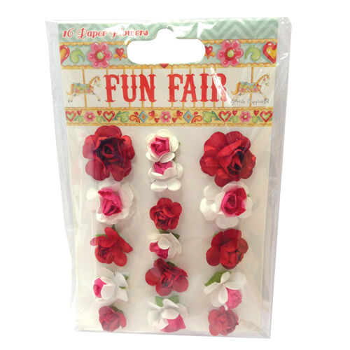 Pack Fun Fair by Helz Cuppleditch Paper Flowers great for cards and crafts