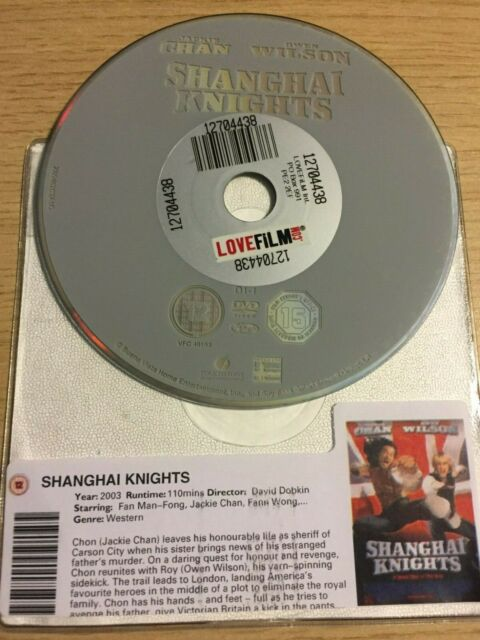Shanghai Knights (DVD, 2003) DISC ONLY