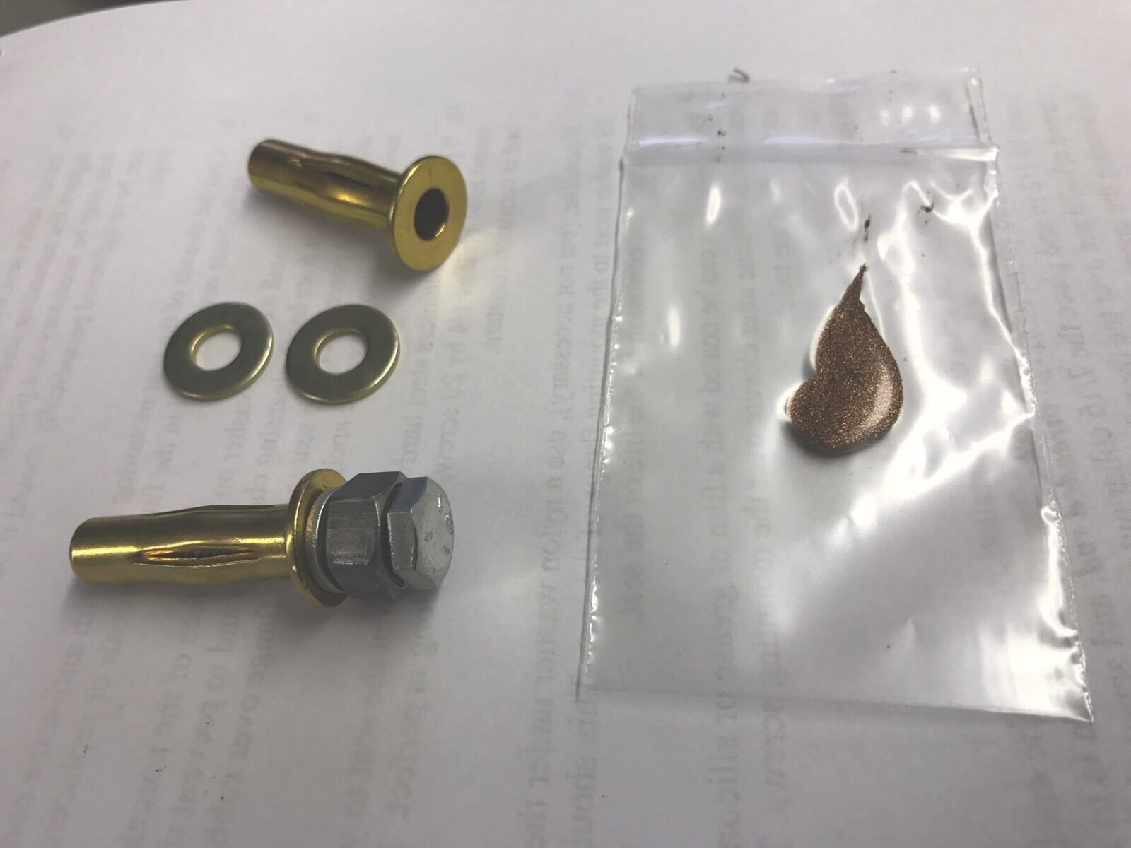 Kohler Seat Anchor Nut Kit For One Piece Toilet All Hardware Included Ebay