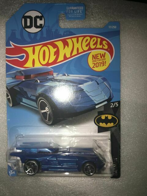 ✅ Hot wheels DC-Batman-Batmobile-Mattel NEUF