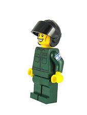 Custom LEGO® Male IAF Mini-Figure Air-Force Pilot