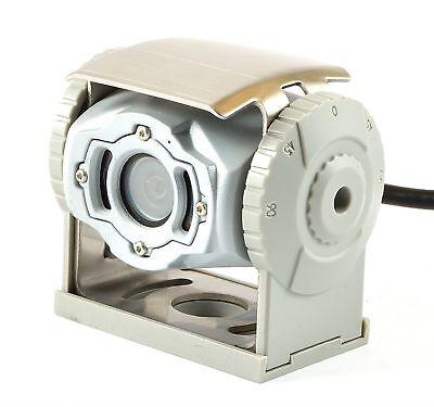 mit Led Waeco CAM50CW Farb CCD Kamera weiß Pal