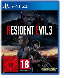 Resident Evil 3 Remake uncut Lenticular 3D Cover PS4