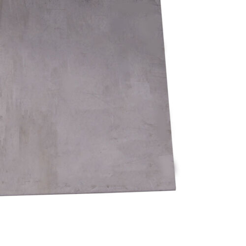 1pc 99.8/% Purity Titanium Ti Titan Thin Plate Sheet Foil 100mm*100mm 0.5mm 0.3mm