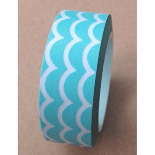 Washi Tape geométricas 10 M Rollo Decorativo Pegajoso De Papel Enmascarar Cinta Adhesiva