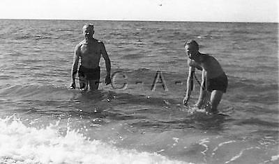 WWII Original German RP- Soldier- Semi Nude- Gay Interest