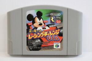 Mickey-039-s-Speedway-USA-Racing-Challenge-Nintendo-N64-Japan-Import-US-Seller-E1289