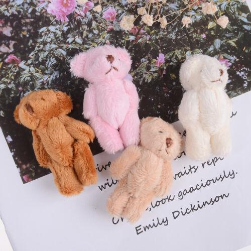 Mini 6 cm fluffy bear plush stuffed baby toy doll for kids candy box gifts CYCA