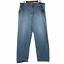thumbnail 1 - Levi's SilverTab Baggy VTG 90s Distressed Light Blue Cotton Denim Jeans 38 x 34