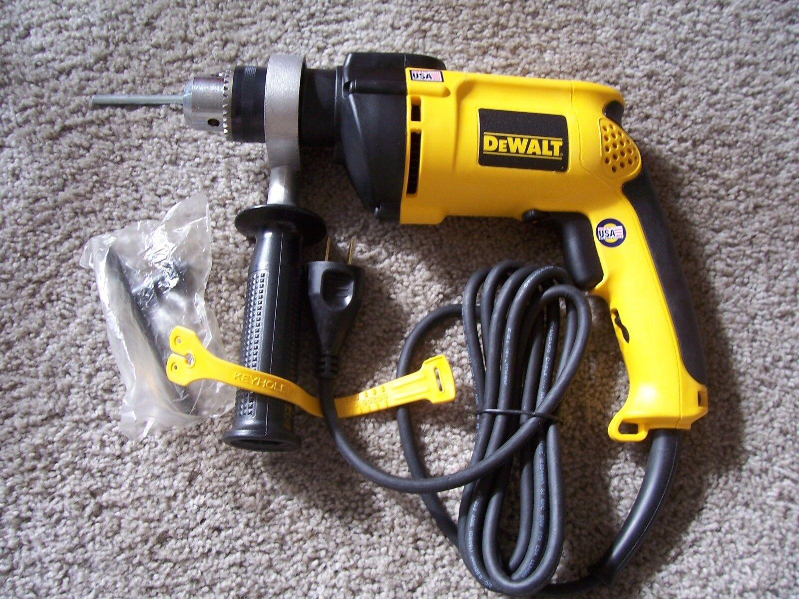 Dewatt DW511 1 2  VSR Hammer Drill