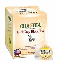 Cha4TEA K-Cup Earl Grey Black Tea 36-Count Keurig K Cups
