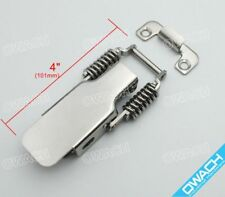 Stainless Steel Draw Latch 43 Toggle Catch Spring Clamp For Heavy Duty 200bls