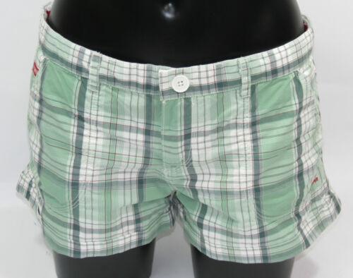 L Nuovo Superdry Washbasket Boy-Short gs7ce26 panpacific GREEN dimensioni XS