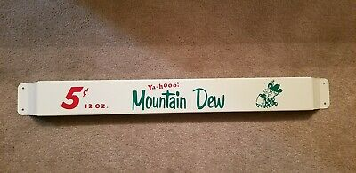 33/'/' Door push bar Mountain Dew Yahooo Antique Soda Advertising sign