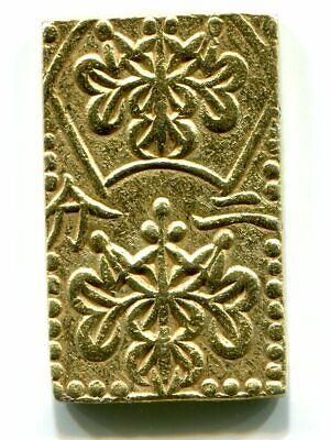 GOLD Ansei 2 BU-BAN-KIN Japan Old coin EDO 022 (1856 ...