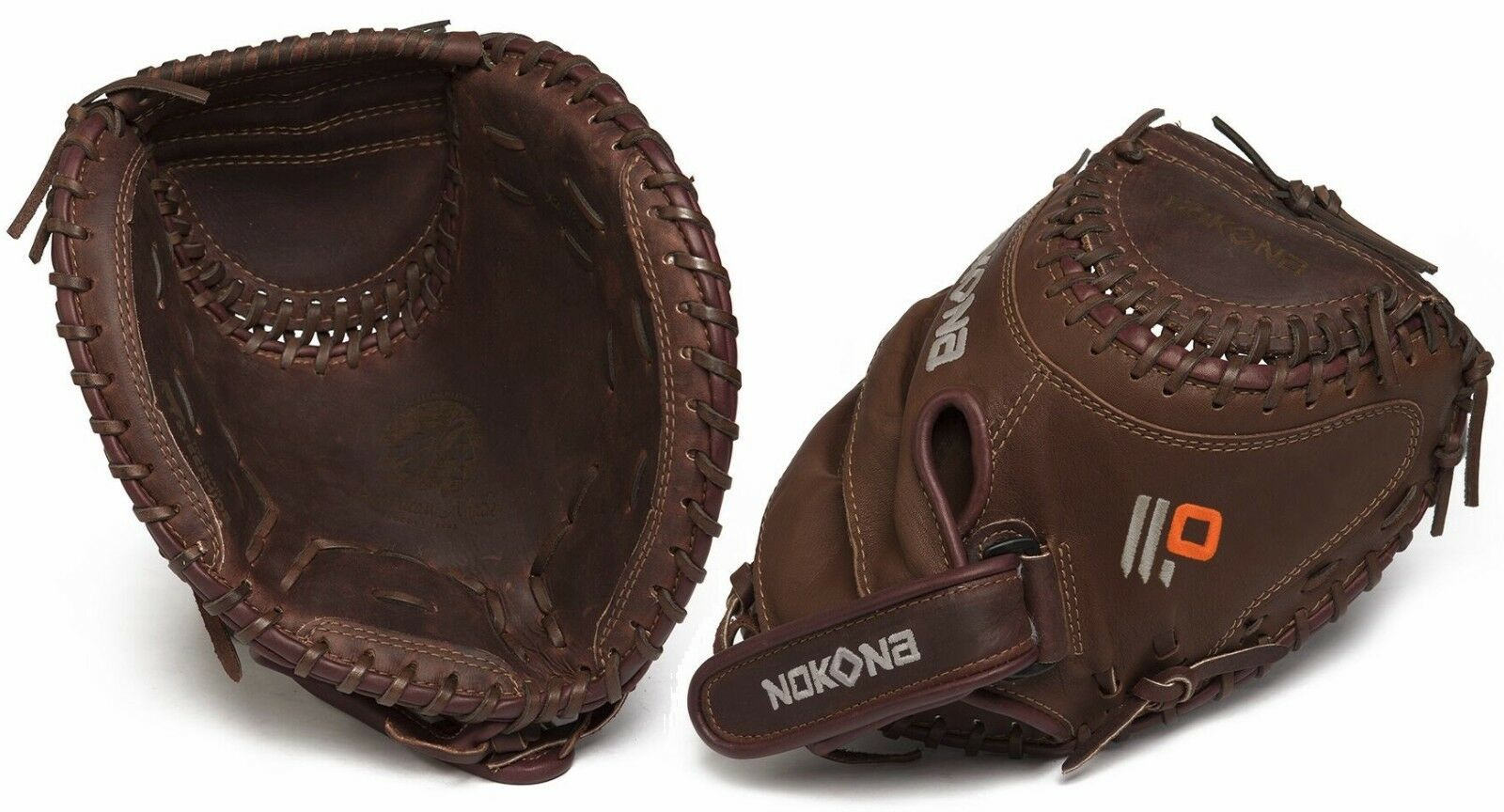 Nokona X2 Elite 32.5  Fastpitch catcher's Softbol Guante X2-V3250 Derecho Mano lanzador