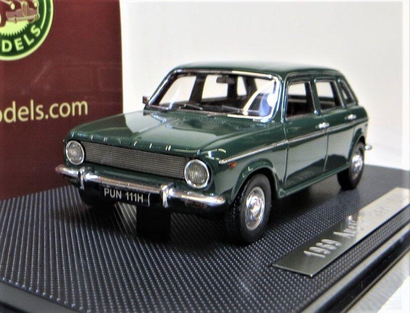 Silas Modelos  1969 Austin Maxi 1500, Connaught verde Ltd  99. hecho a mano, BINB.