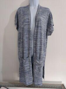 Haut-Femme-Next-Cardigan-Gris-Taille-12-poches-Casual-Tres-bon-etat