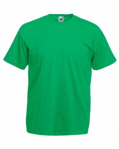 5 or 3 Pack Mens Fruit Of The Loom T-shirt Cotton Plain Tee shirts T Shirt S-5XL