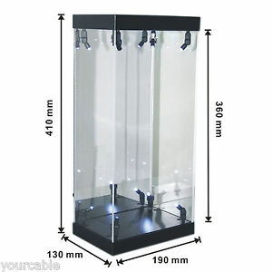 Acrylic-Display-Case-Light-Box-for-12-034-1-6th-scale-Catwoman-Batman-Action-Figure