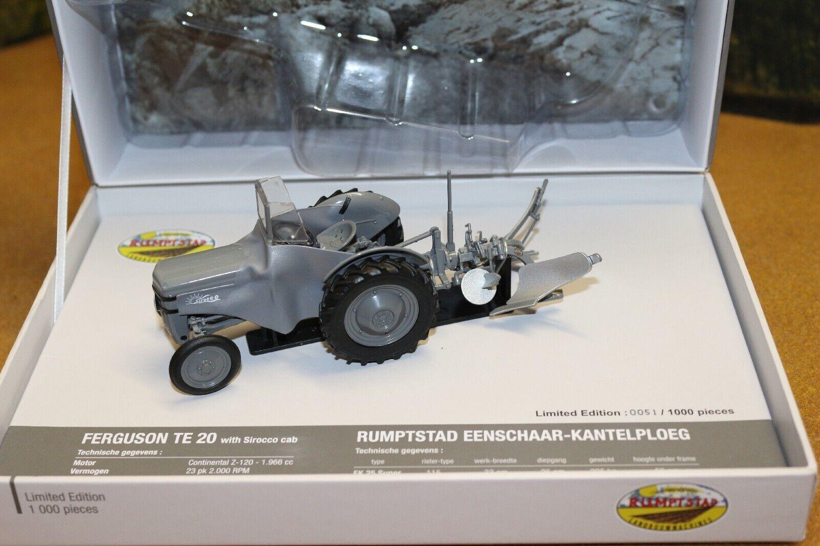 UH5364 Ferguson TEA20 & rumptstad 2 surco arado, edición limitada con panDimensione