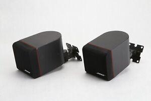 Pair Of Bose Redline Cube Speakers, Lifestyle Acoustimass Surround Sound